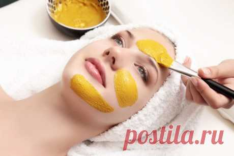 Куркума — сильнейшее средство для омоложения кожи. Список масок из куркумы