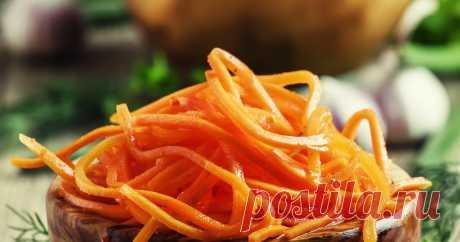Самая вкусная морковь по-корейски | Самые вкусные кулинарные рецепты