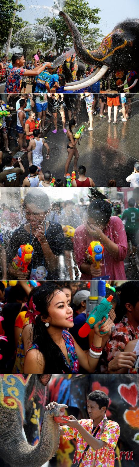 Как празднуют тайский Новый год — Все о туризме и отдыхе