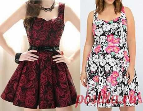Vestido godê com decote coração Esquema de modelagem de vestido godê com decote coração do tamanho 36 ao 56. O caimento depende do tecido que for usar.