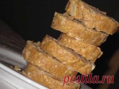 """Карамельная колбаска (с конфетами """"Коровка"""")"""