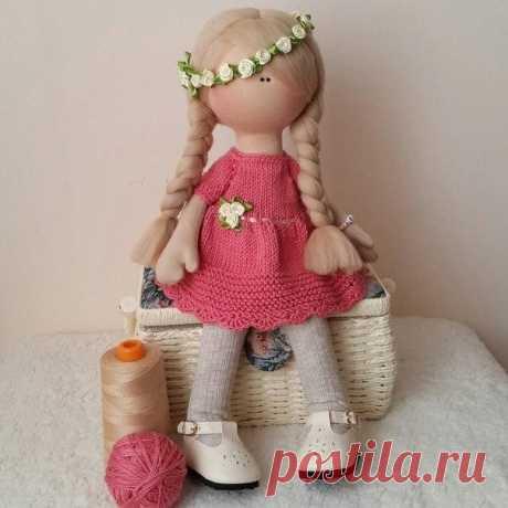 Текстильные куклы Снежки (Большеножки)