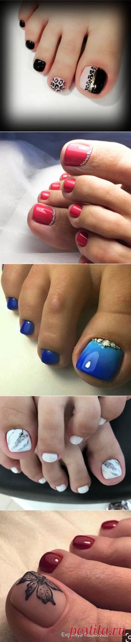 Педикюр на короткие ногти: 30 стильных идей | Новости моды