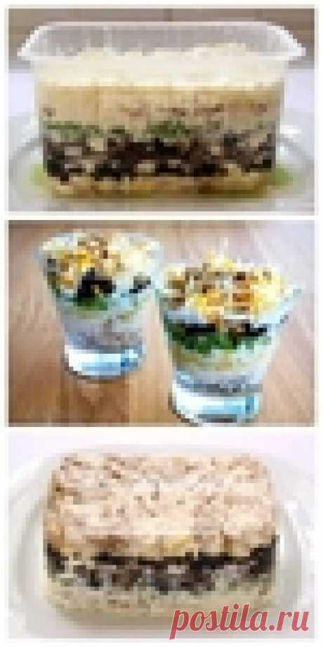 Восхитительный слоеный салат «Негреско»