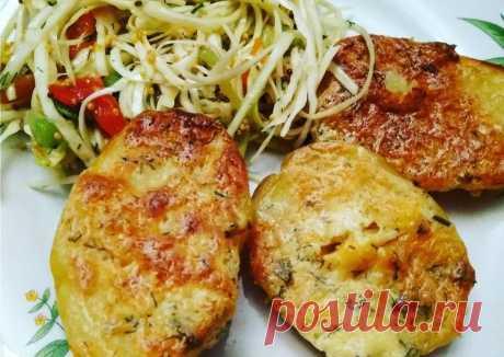 (5) Картошечка с чесночным маслом - пошаговый рецепт с фото. Автор рецепта Анна Колесник . - Cookpad