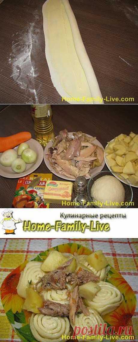Штрули с курицей - Дом Семья Жизнь- фото | Кулинарные рецепты