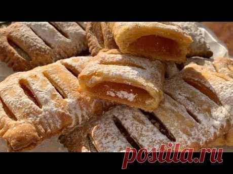 Вкуснейшие слойки всего из двух ингредиентов!!! | Puff pastry | Շերտավոր խմորով թխուկ