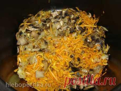 Плов с шампиньонами (постное блюдо) (скороварка Polaris 0305) - Хлебопечка.ру