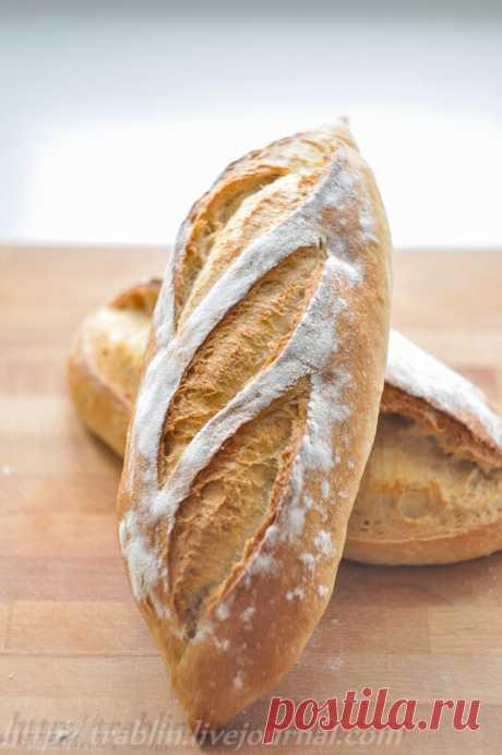 Белый хлеб на закваске - Записки кулинарного озорника — LiveJournal