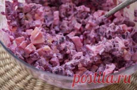 Мой любимый легкий свекольный салатик: удивительно простой и вкусный!.