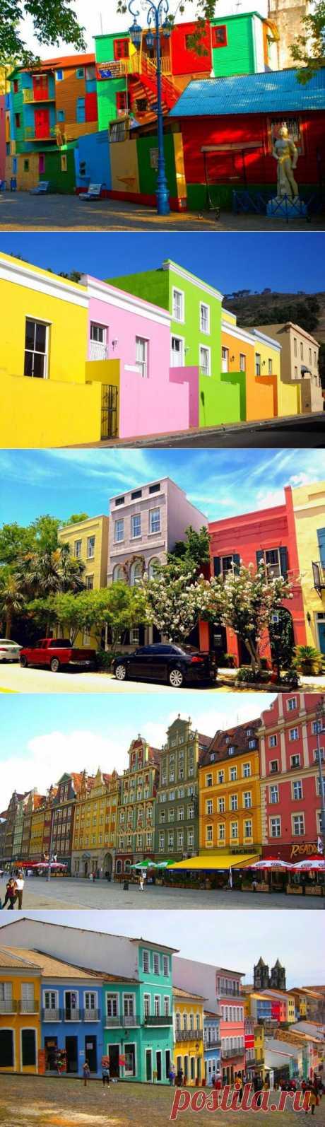 (+1) тема - Cамые красочные города мира | Непутевые заметки