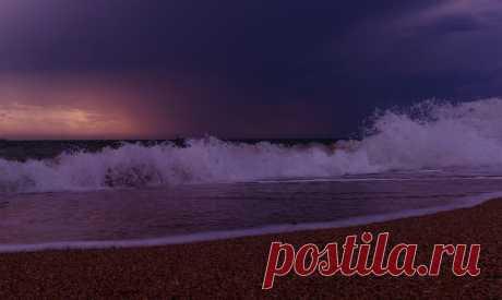 шторм затихает