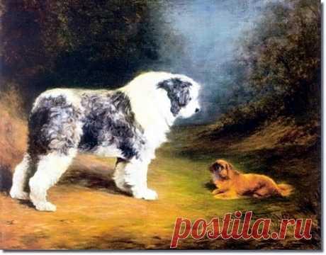 Собаки в изобразительном искусстве, часть 26 – Блог. Run, пользователь Марина Николаева   Группы Мой Мир