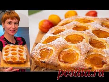 Нежный абрикосовый пирог к чаю – пошаговый рецепт с фотографиями