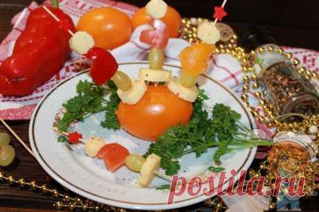 Канапе на Новый год 2020 - Пошаговые фото рецепты без дрожжей, без муки, без мяса, без масла, без яиц