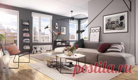 Серый цвет в фотографиях интерьеров - как и с чем сочетать мебель и обои узнайте на сайте Stone Floor в Туле  #серыйинтерьер#серыйпалитрыцветов#палитрысерого#счемсочетатьсерый#Тула#Stonefloor