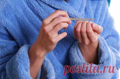 Что за белые полоски появляются на ногтях?   Всегда в форме!