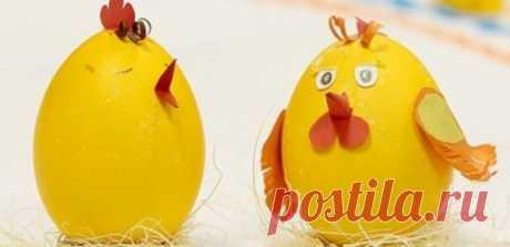 Пасхальные цыплята своими руками - ksv.su
