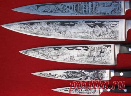 Технология домашнего травления ножей электролитическим способом Бывает, смотришь на нож - и видишь произведение искусства, резать им жалко. Как правильно сделать травление ножа в домашних условиях - тема этой статьи.