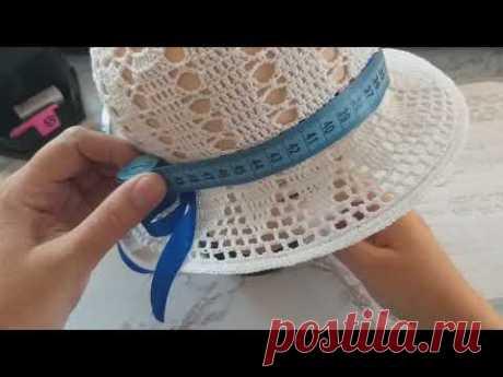 Летняя шляпка крючком. Часть 1