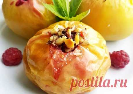 (2) Яблоки запеченные с ягодно-ореховой начинкой - пошаговый рецепт с фото. Автор рецепта Ирина Фаткулина 🏃♂️ . - Cookpad