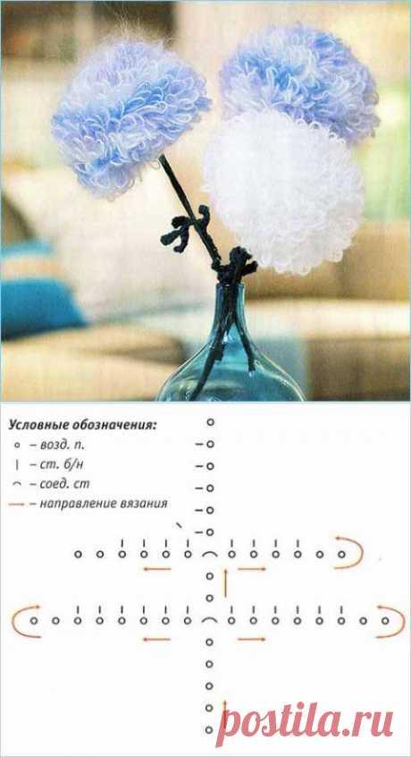Хризантемы крючком   Искусница
