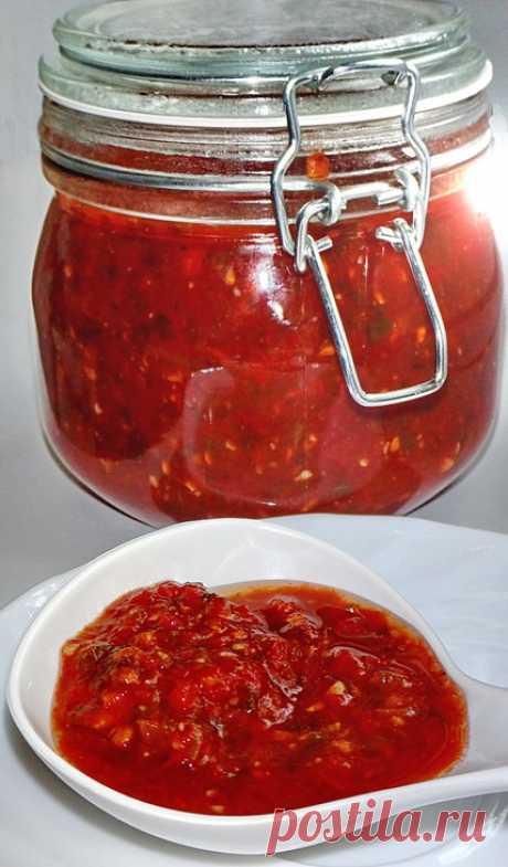Сацебели (универсальный томатный соус). Koolinar.ru – более 120 000 рецептов с фотографиями.