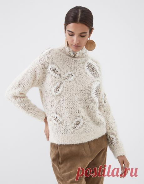Вдохновилась Брунелло, провела переоценку: связанный мною пуловер стоит не меньше 70 тысяч рублей... | Изба-вязальня | Яндекс Дзен