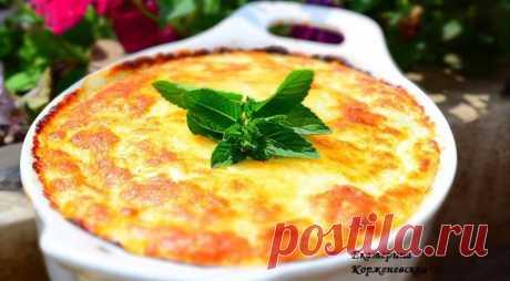 Кабачковое суфле под сырной шапкой - Gastronom.ru