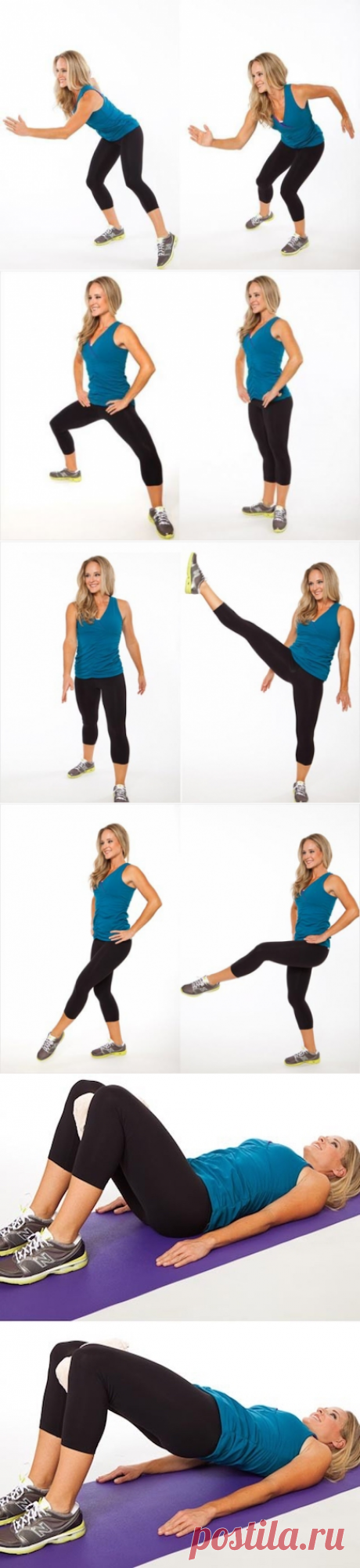 There are 7 exercises forever to get rid of thick hips — Women's magazine