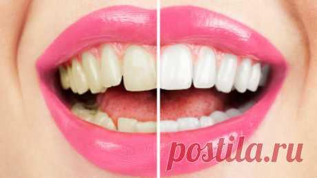 Чем можно отбелить зубы в домашних условиях не повредив эмаль?