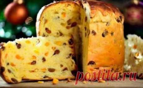 Italian easter cake of Panettone (fast recipe). I prepare constantly!