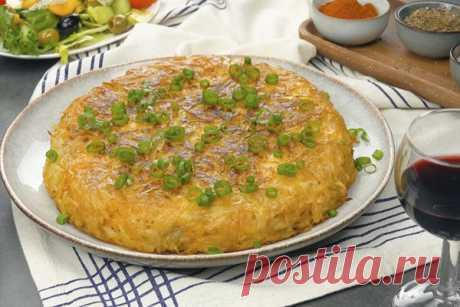 Картофельный рости с куриной начинкой. Простой и вкусный ужин
