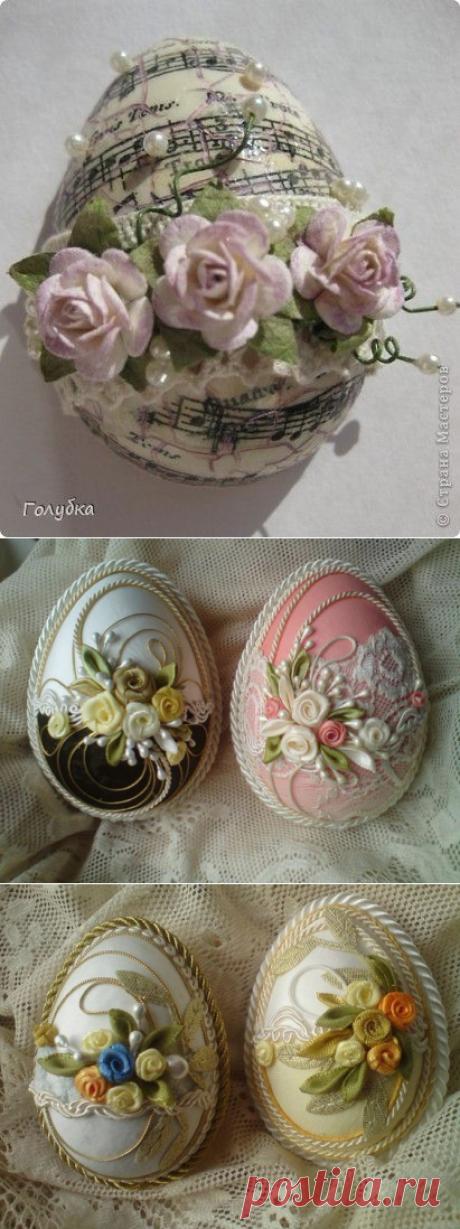 Декоративные Пасхальные яйца