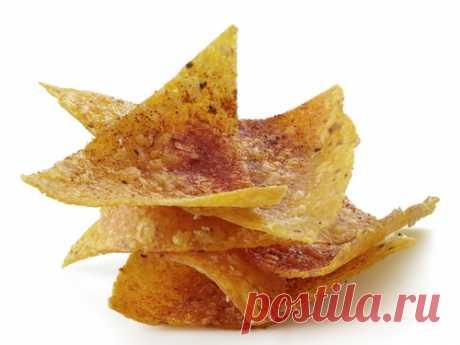 Кукурузные чипсы «Начос» с перцем рецепт | Гранд кулинар