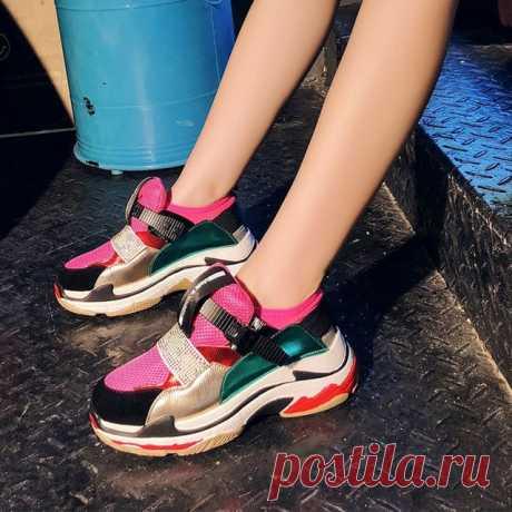 Женские кроссовки на платформе ищем на Алиэкспресс — Алиэкспресс Обзор