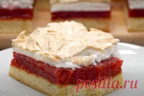 Потрясающее пирожное «Три слоя» - Вкусные рецепты - медиаплатформа МирТесен