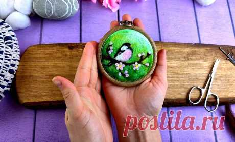 Покупаю мягкие мини-пяльца, чтобы делать из них весеннюю красоту💚💛🧡 | Живые вещи | Яндекс Дзен