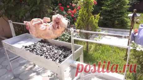 Как своими руками сделать вертел с электроприводом Любите жареное мясо, приготовленным на природе, причем не маленькие кусочки, как шашлык, а, например, целый окорок или даже тушку? Тогда без вертела вам
