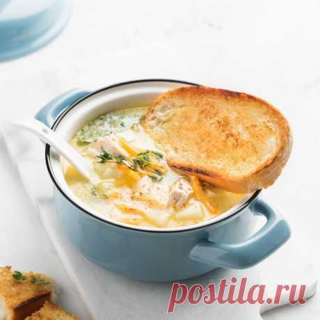 Сырный суп по-французски — Sloosh – кулинарные рецепты