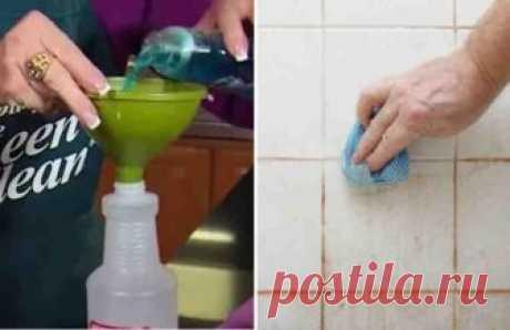 Как быстро отмыть ванную комнату. Самый действенный способ! Безусловно, из всех мест в доме ванная - это то место, которое нуждается в постоянном поддержании чистоты и которое труднее всего привести в порядок. Загрязненная плитка, ванна с налетом от засохшего мыла, краны, покрытые слоем извести... Как это всё отмыть? И как отмыть всё это быстро и эффективно?