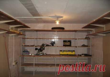 El arreglo del garaje
