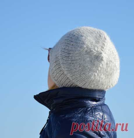 Вязание простых шапочек спицами - блог экспертов интернет-магазина пряжи 5motkov.ru