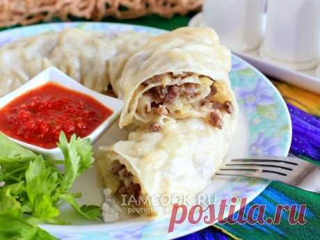 Ханум с мясом и картошкой. Ханум - это сочное национальное узбекское блюдо из мяса и картошки, приготовленное в пароварке, которое не оставит никого равнодушным.