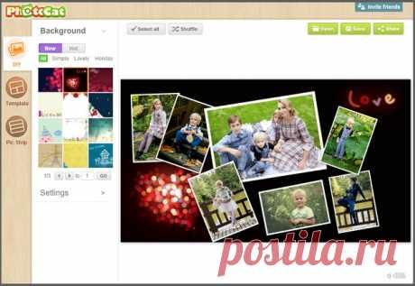 Коллаж из фотографий бесплатно онлайн » Позитив. Сайт хорошего настроения - Все о Позитиве