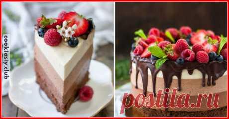 Муссовый торт «Три шоколада» . Милая Я