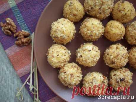 Шарики из сыра с орехами | Ваши любимые рецепты