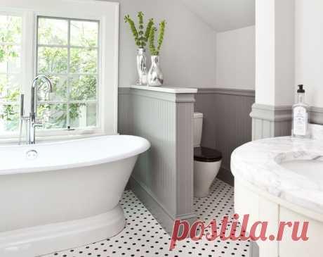 Как самому сделать перегородку в ванной комнате?