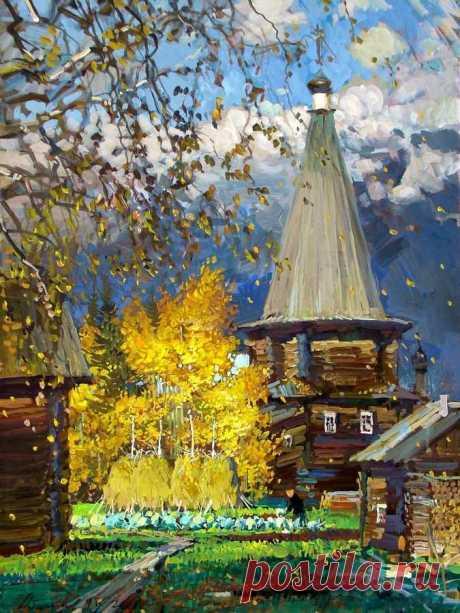 Русский художник Михаил Абакумов (1948-2010)