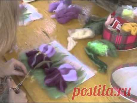 Tatyana Sklyar. Canned meat on a fulling. Production of pictures in the Woolen Water Color equipment (16.07.2011)